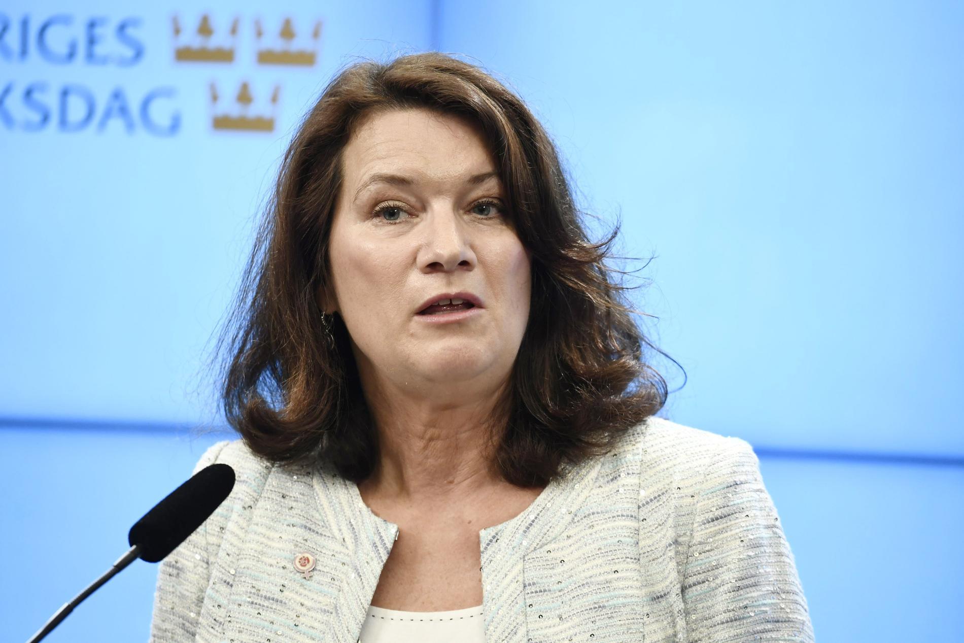 Ann Linde, utrikesminister