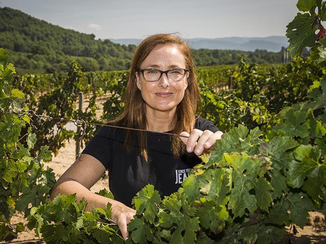 """Mireia Torres Maczassek, Spanien: """"Vi hittat flera sorter som tål värme och torka mycket bra vilket vi kan dra nytta av i framtiden."""""""