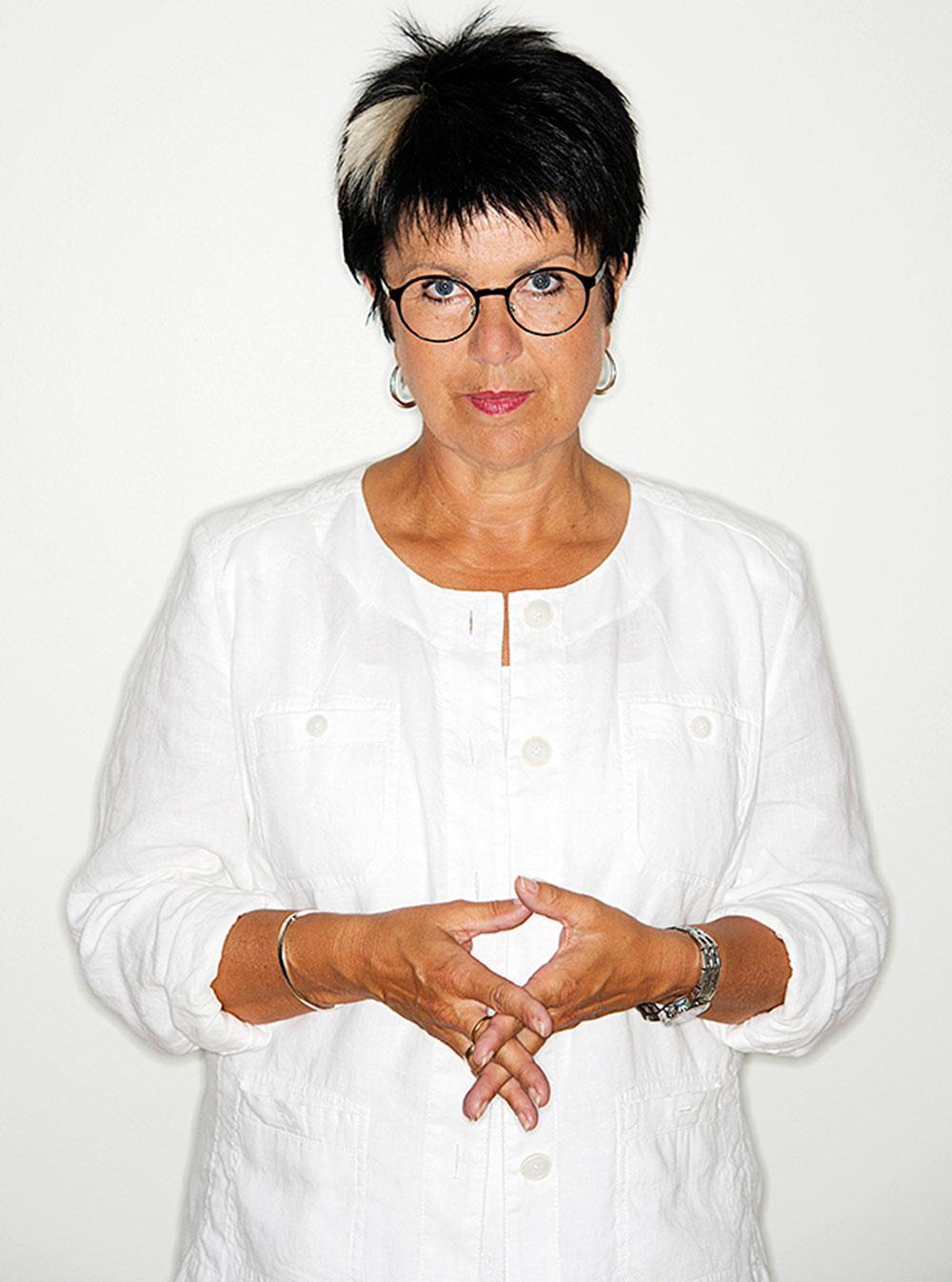 Lärarförbundets ordförande Eva-Lis Sirén.