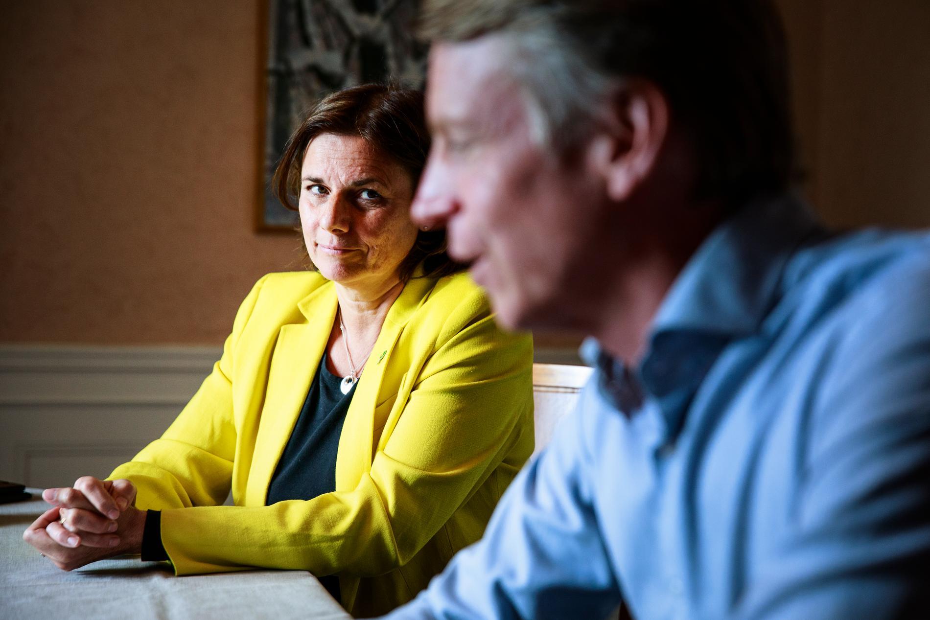 Enligt senaste Aftonbladet/Demoskop-mätningen skulle MP åka ur riksdagen om det var val i dag.