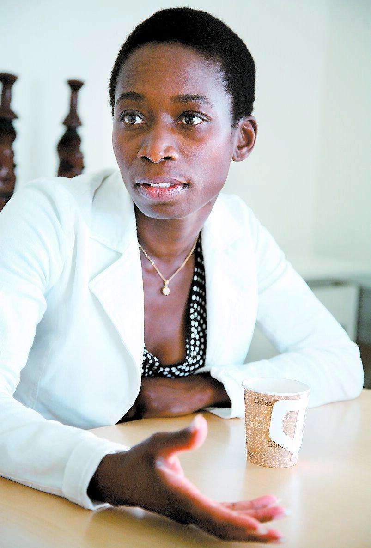 Integrations- och jämställdhetsminister Nyamko Sabuni.