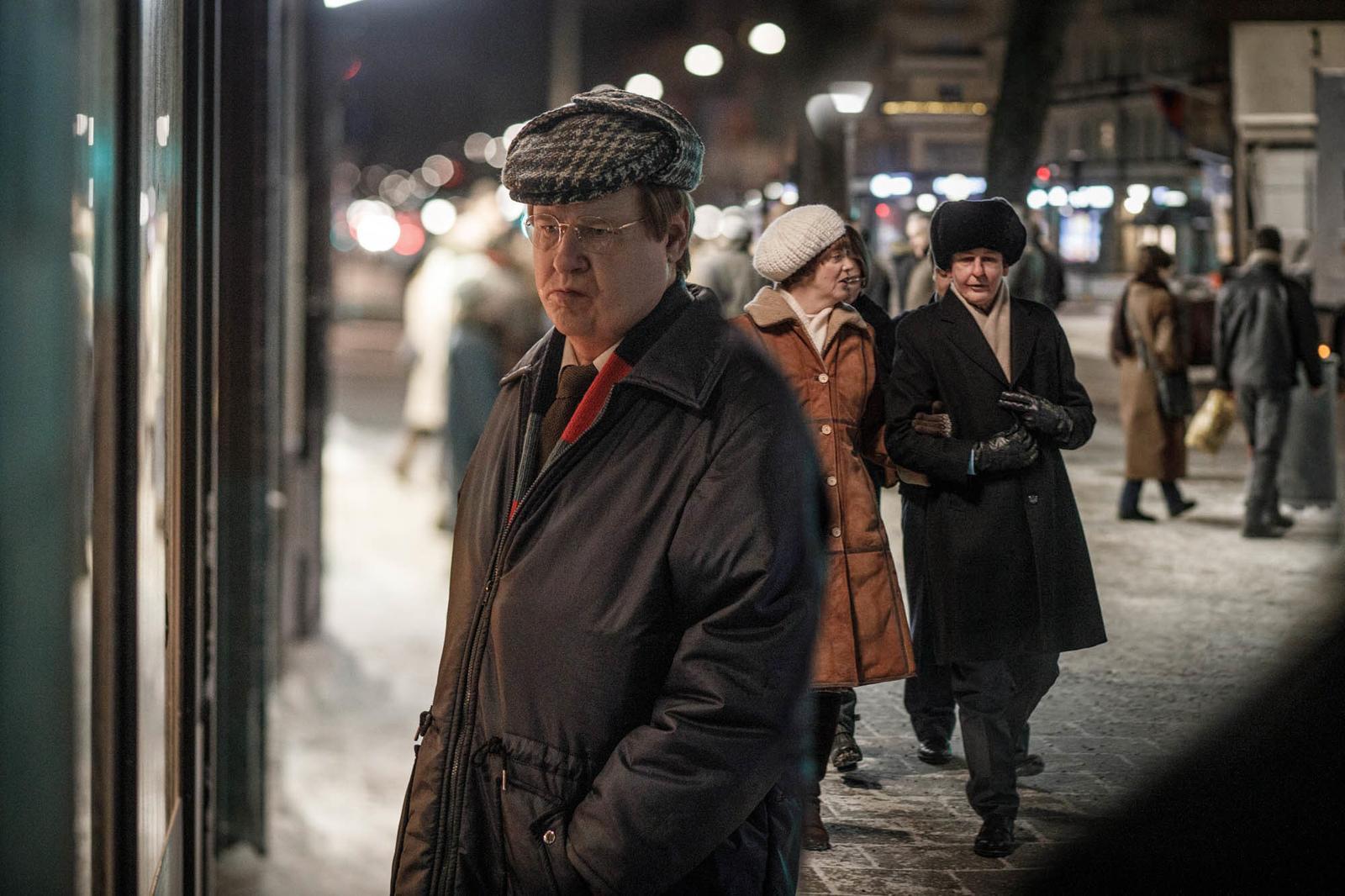 "Robert Gustafsson som ""Skandiamannen"" i ""Den osannolika mördaren""."