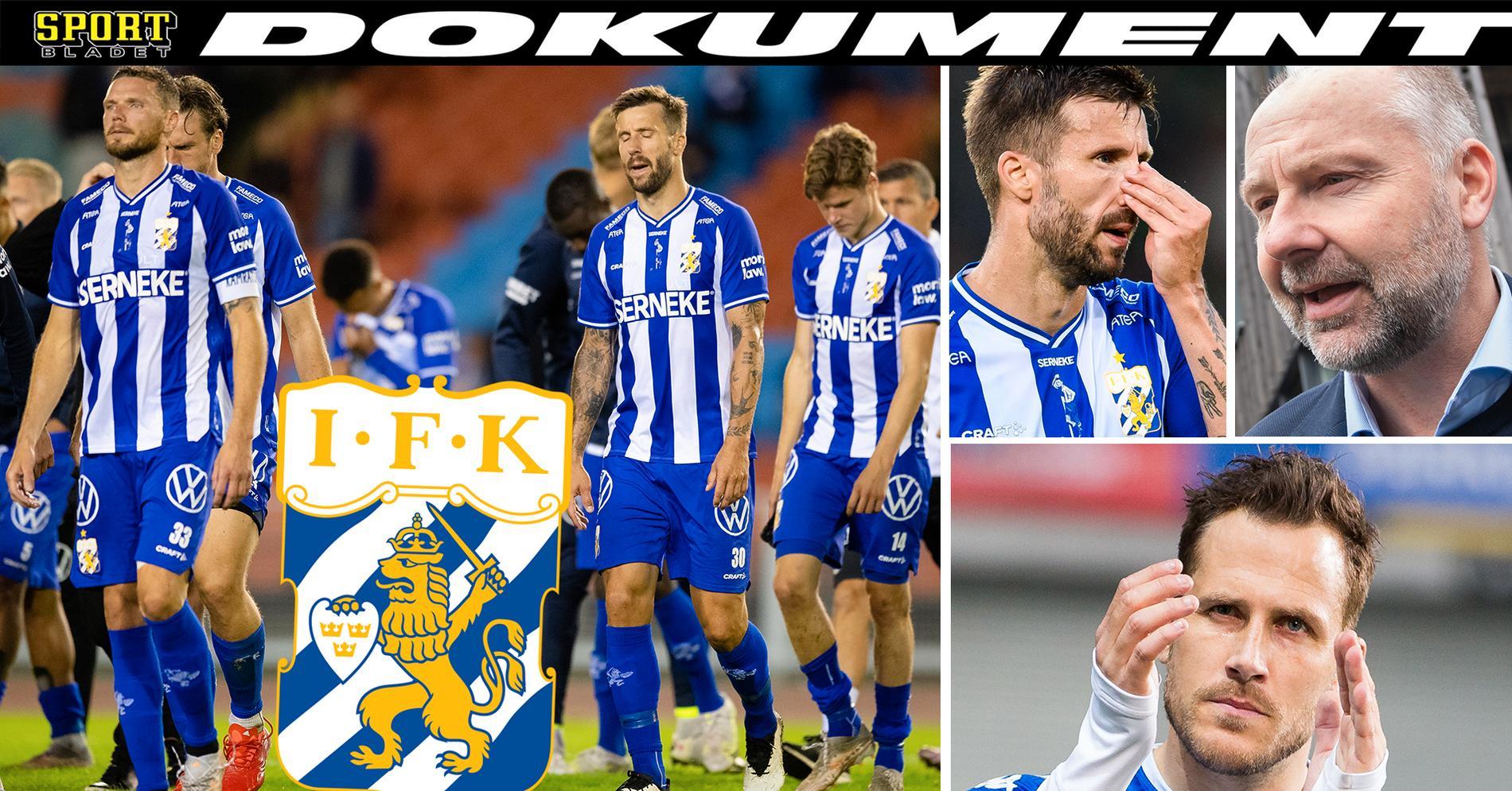 """Kritiken: """"Det finns inte i IFK Göteborg i dag"""""""