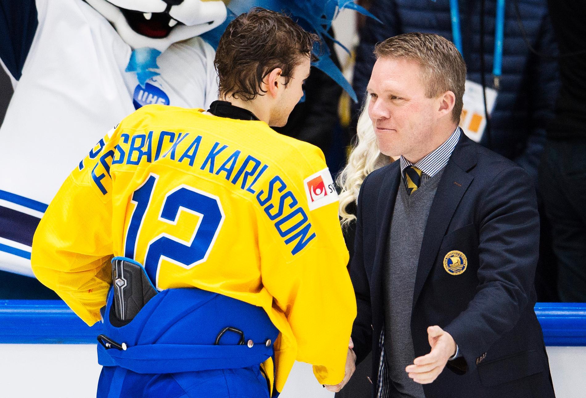 Anders Larsson valdes in som ledamot i IIHF.