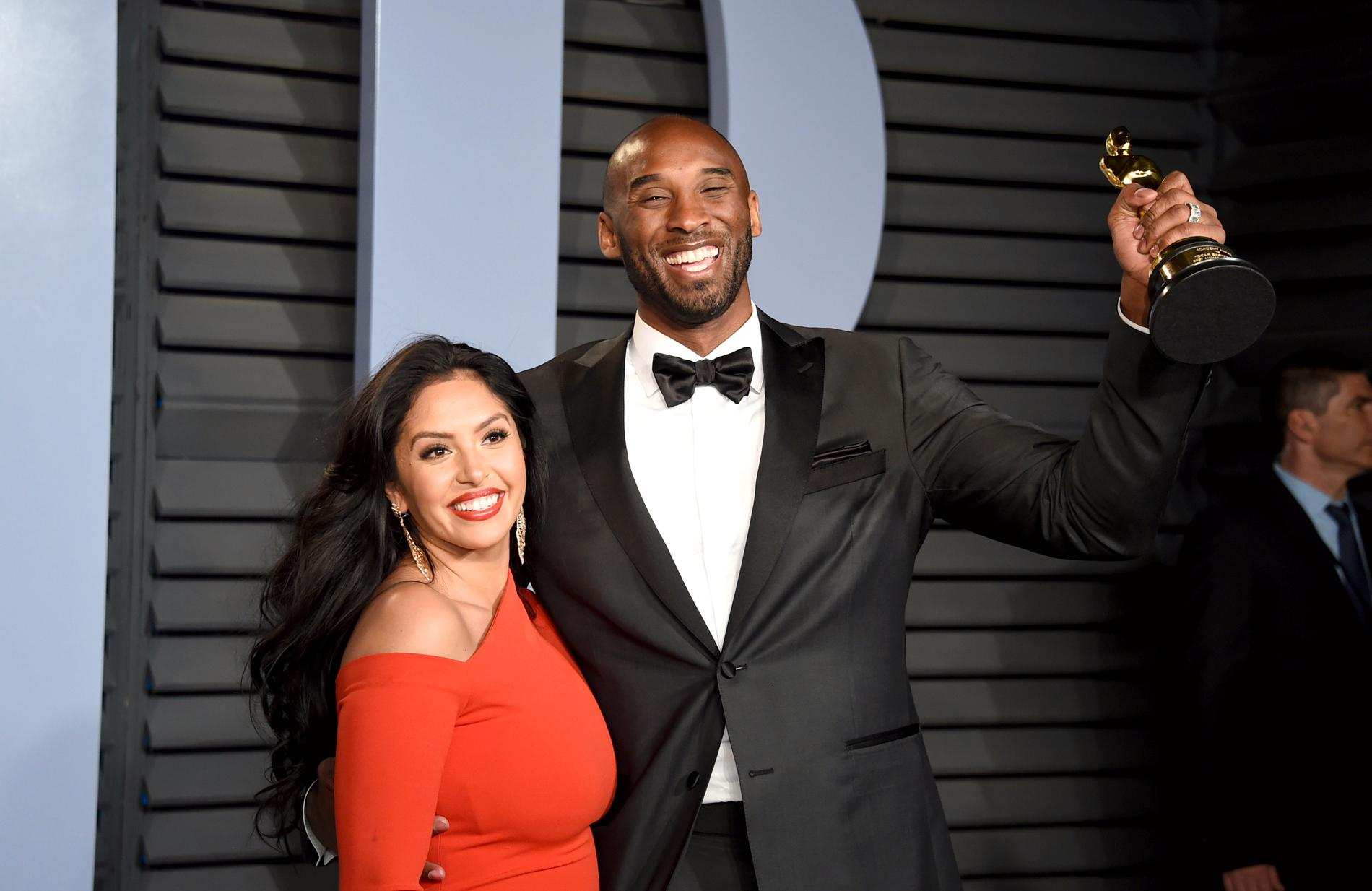 Vanessa och Kobe Bryant.