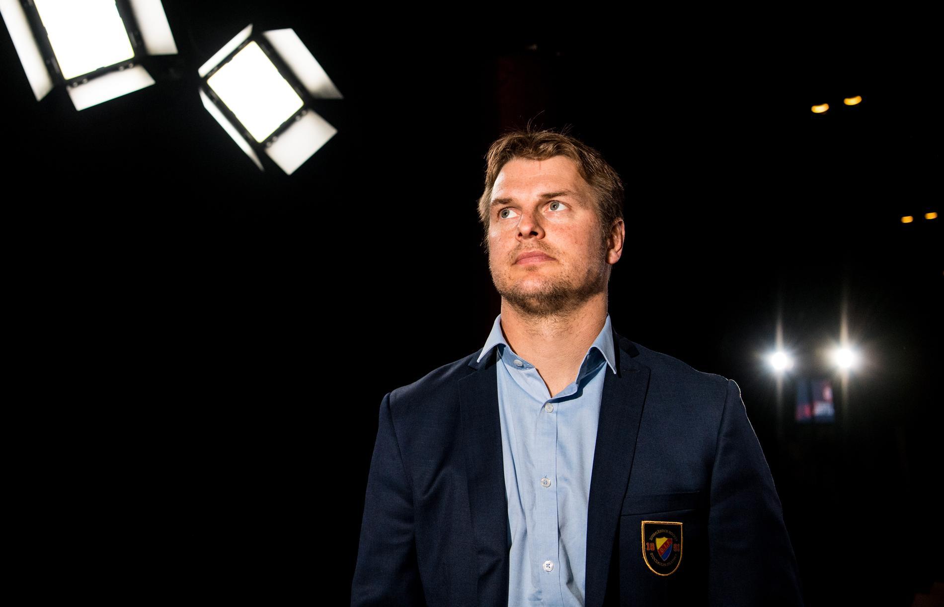 Joakim Eriksson, sportchef i Djurgården.