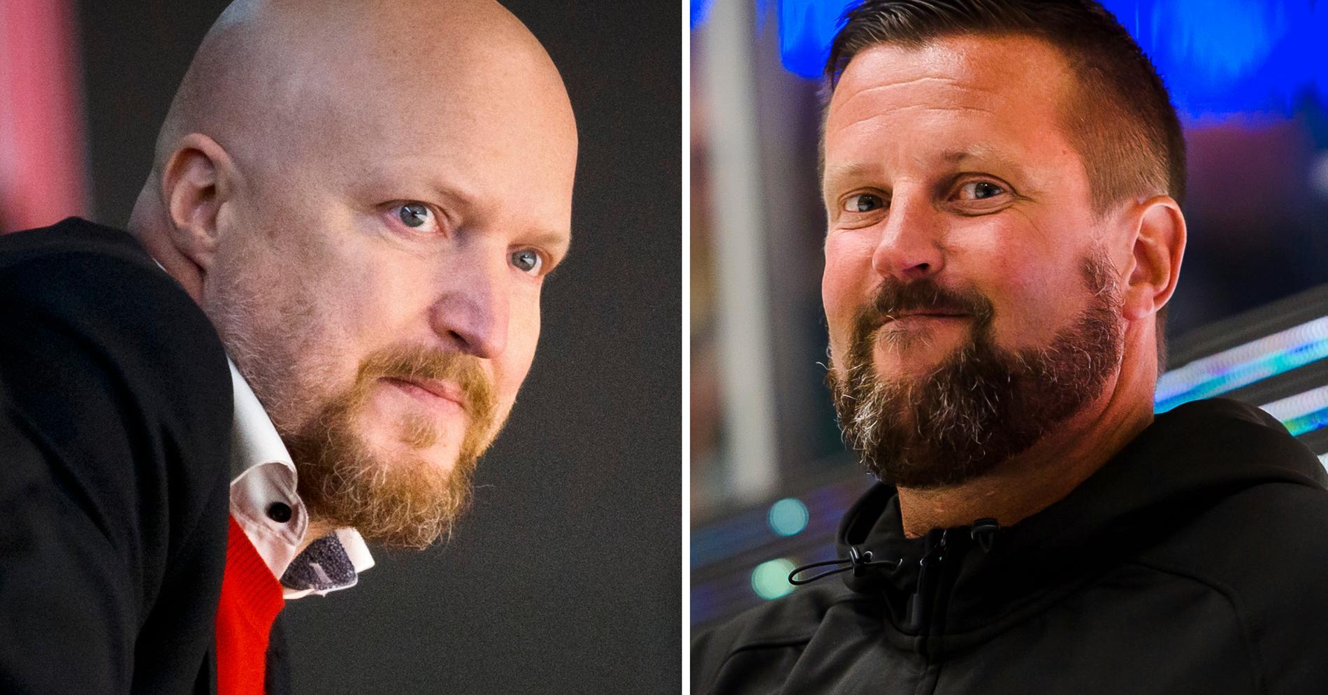 Niklas Johansson och Peter Jakobsson.