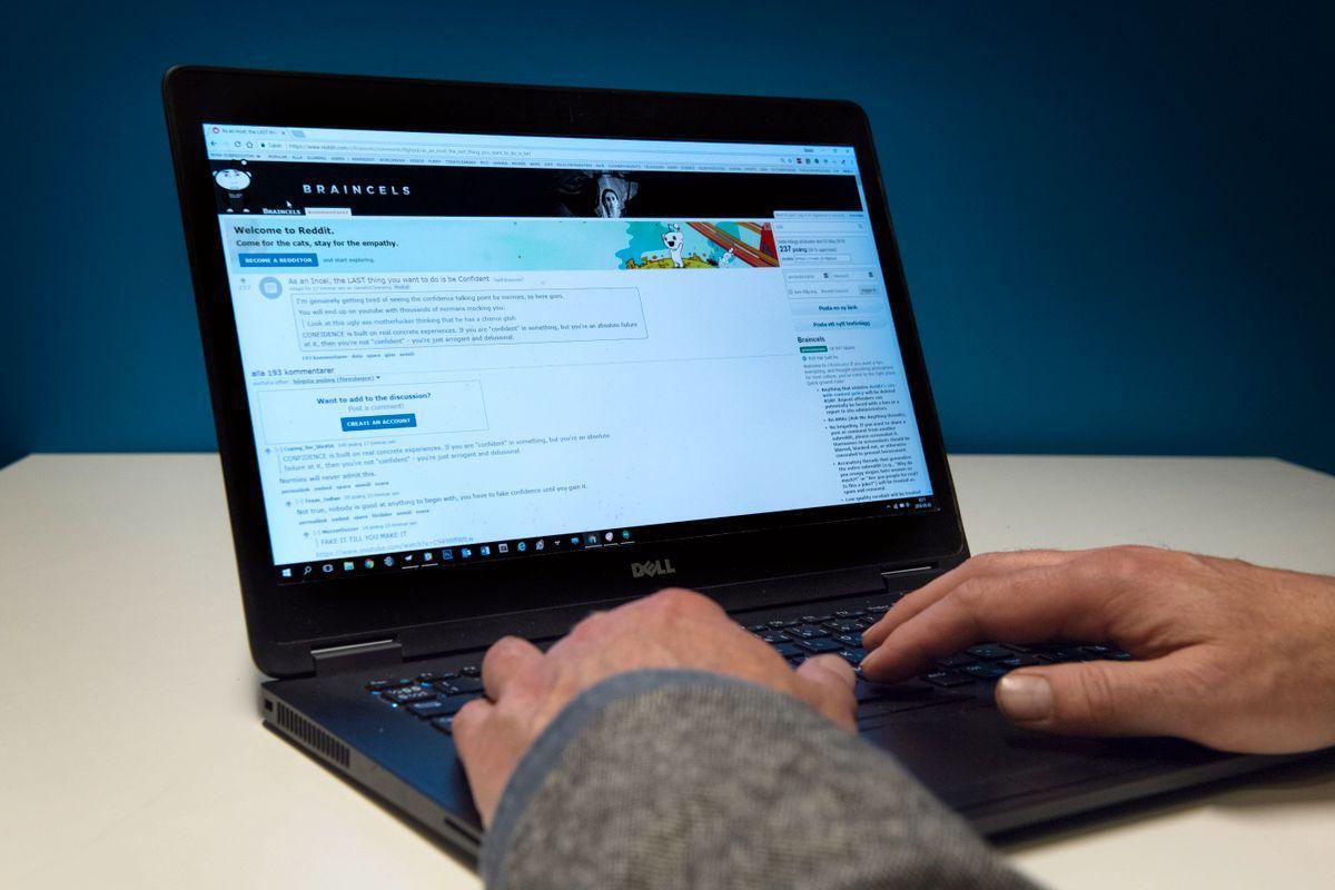 Incel-rörelsen använder sig ofta av online-forum