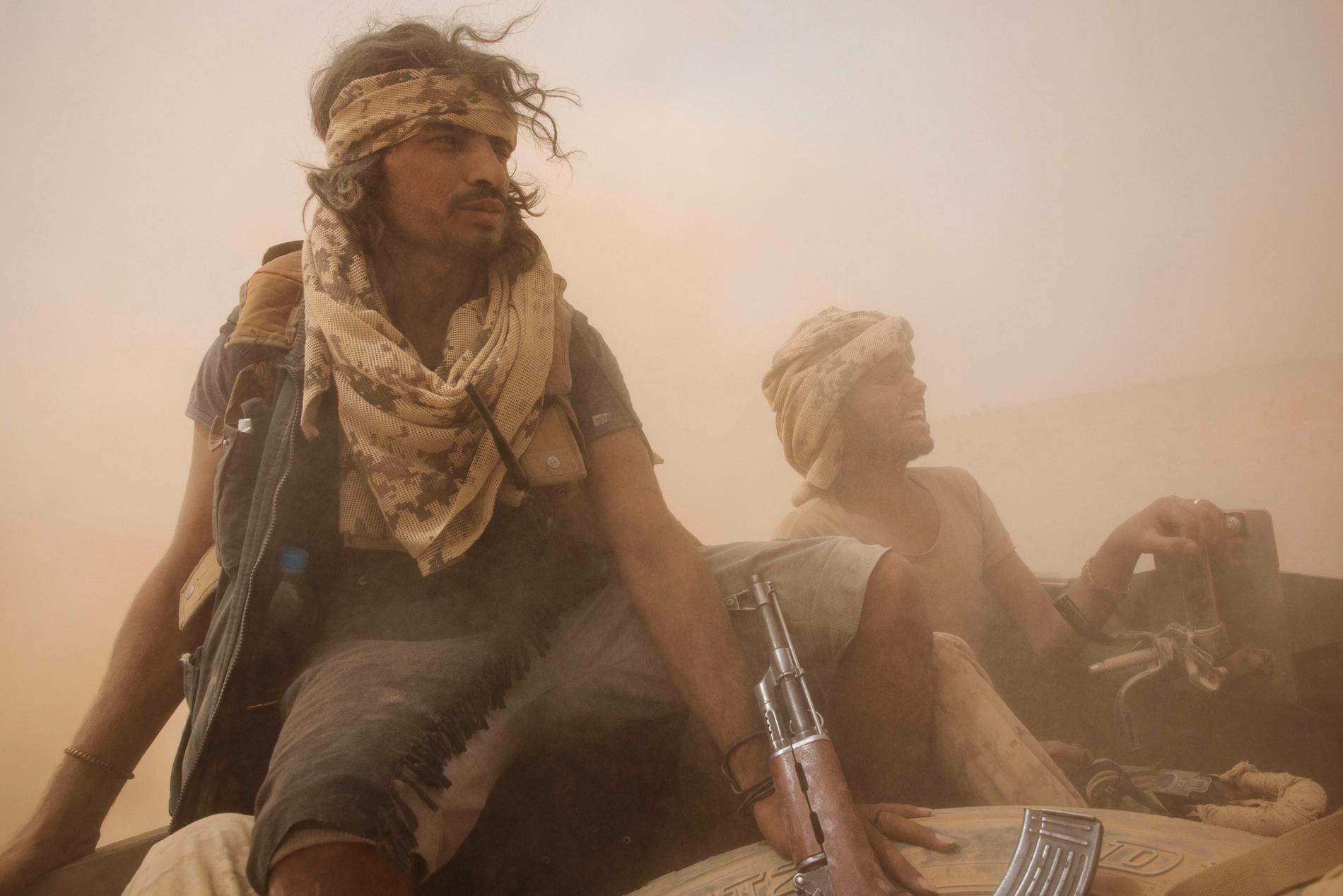 Regeringstrogna styrkor i Jemen. Arkivbild.