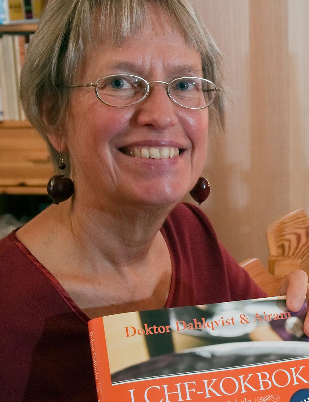Fettdoktorn Annika Dahlqvist har skrivit flera böcker om LCHF-dieten som tillåter hur mycket fett som helst så länge man inte äter kolhydrater.