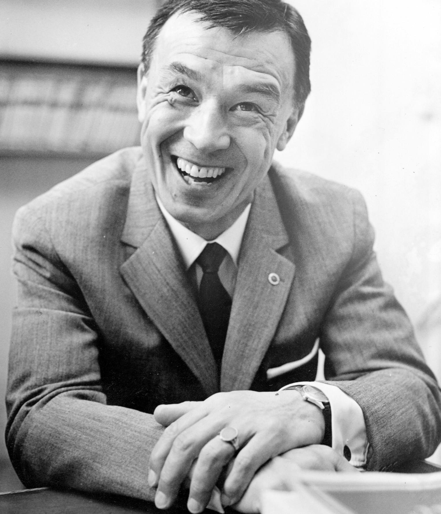 Frank Soo i Stockholm 1963.