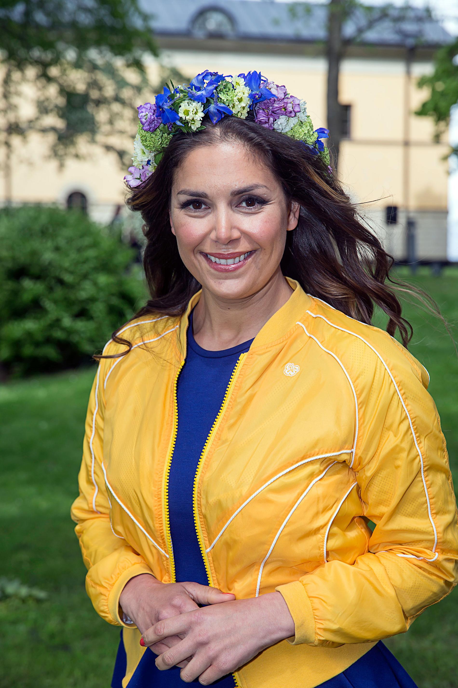 Leila Lindholm sommarpratade i P1.