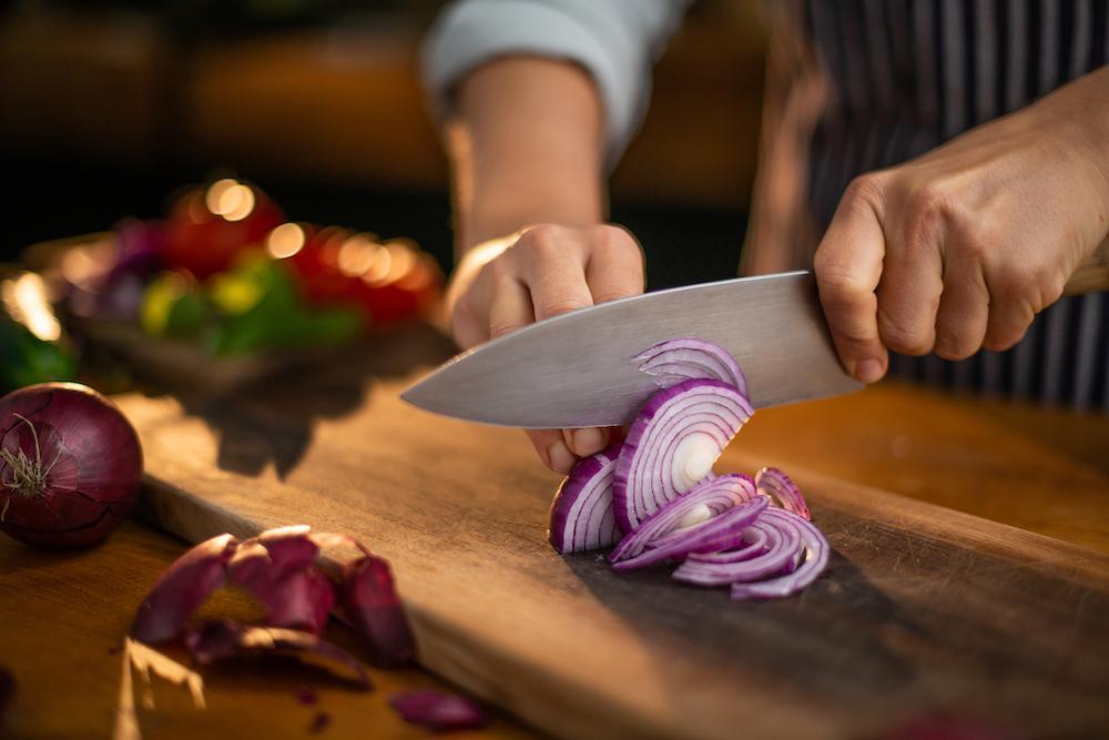 En bra kniv är viktigt för resultatet.