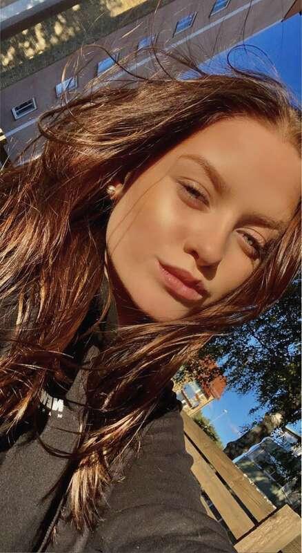Sara Trulsen Edström, 18, överlevde olyckan i Degerfors.