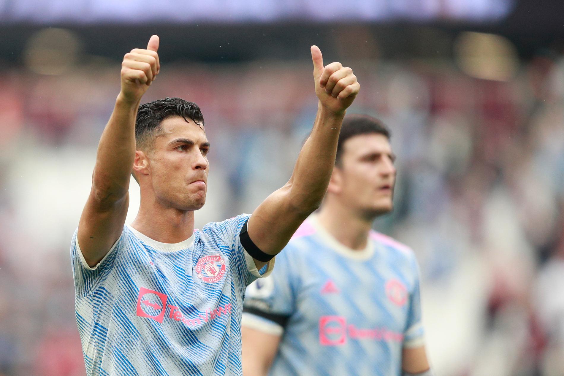 Manchester Uniteds Cristiano Ronaldo tjänar mest av världens fotbollsspelare. Arkivbild.