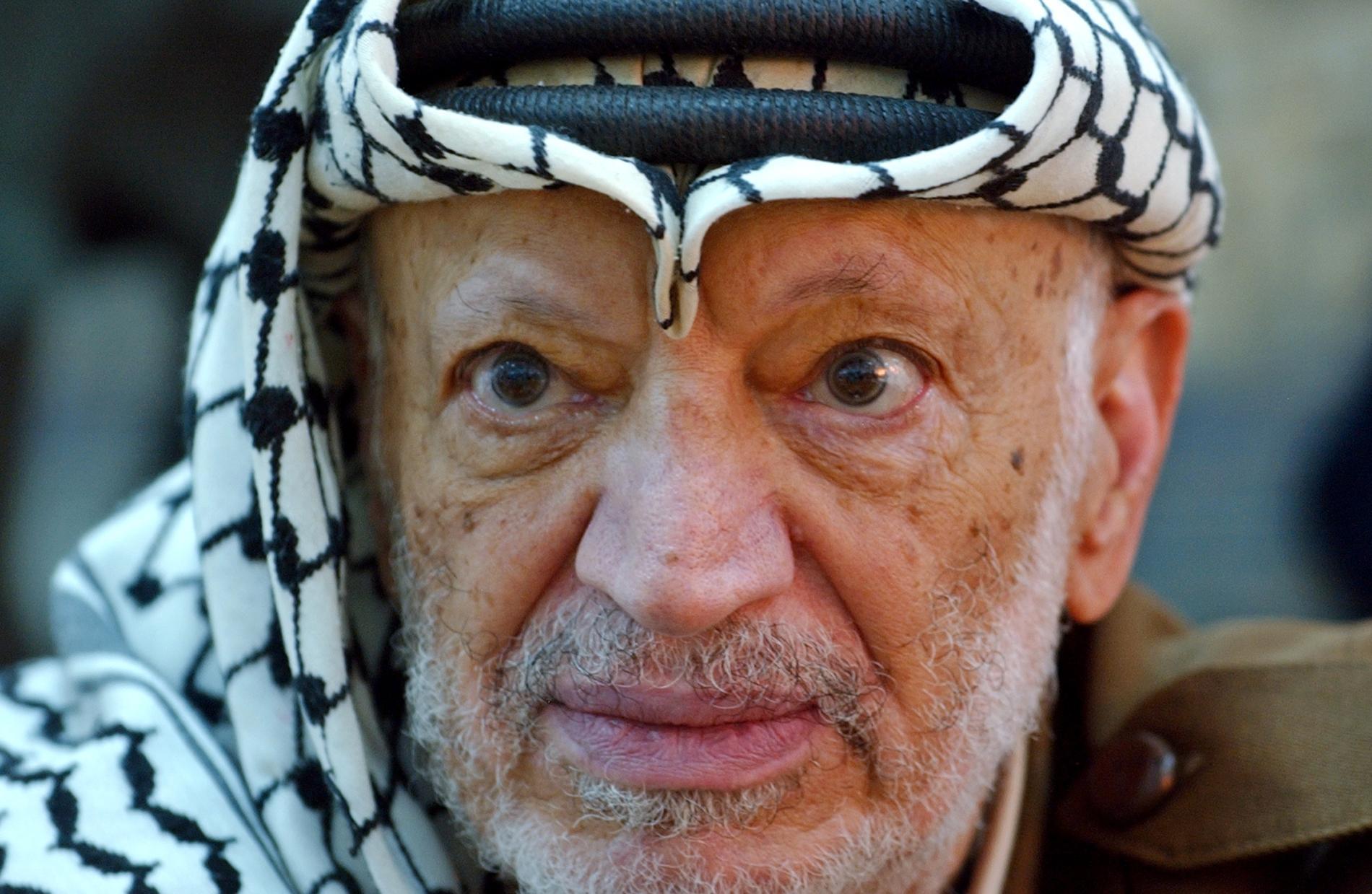 Yassir Arafat stred länge för fred.