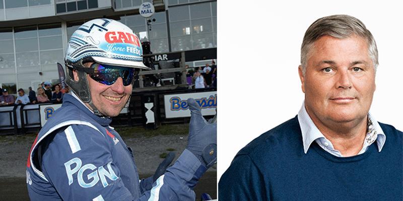 Stefan Hultman orkar inte längre träna sina hästar på Erikssund hos proffstränaren Peter G Norman.
