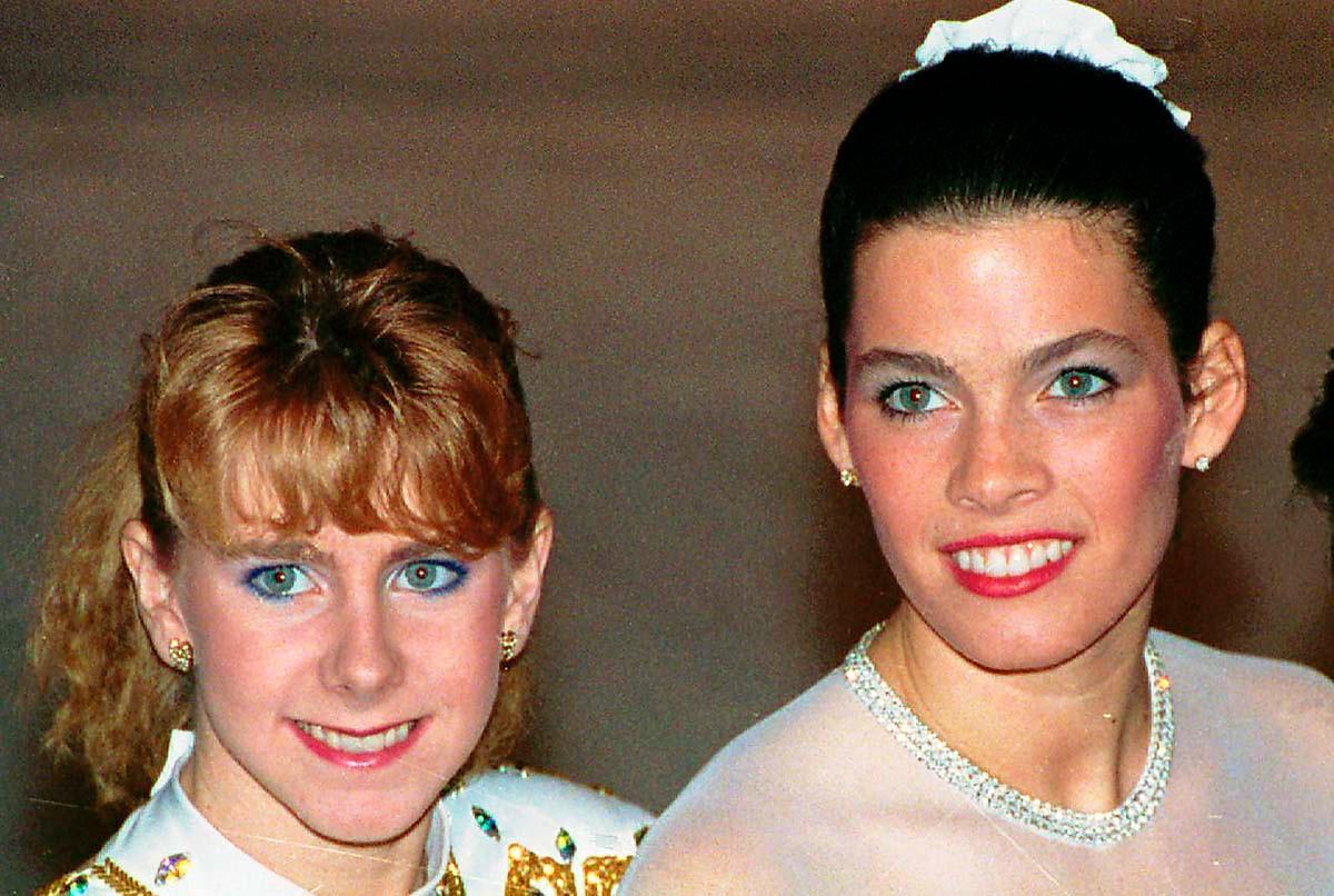 Tonya Harding och Nancy Kerrigan 1992.