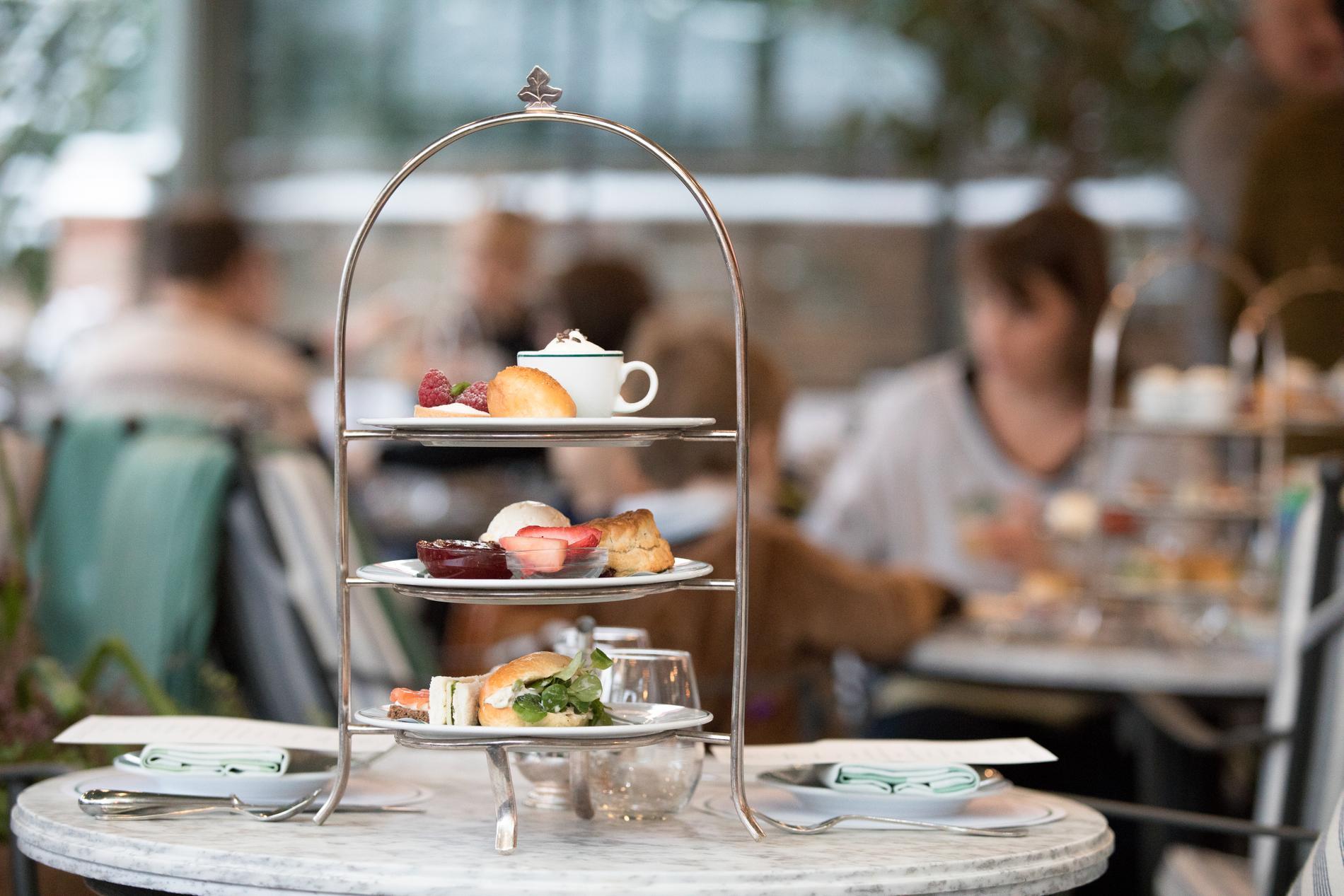 Afternoon tea är från början en brittisk tradition.