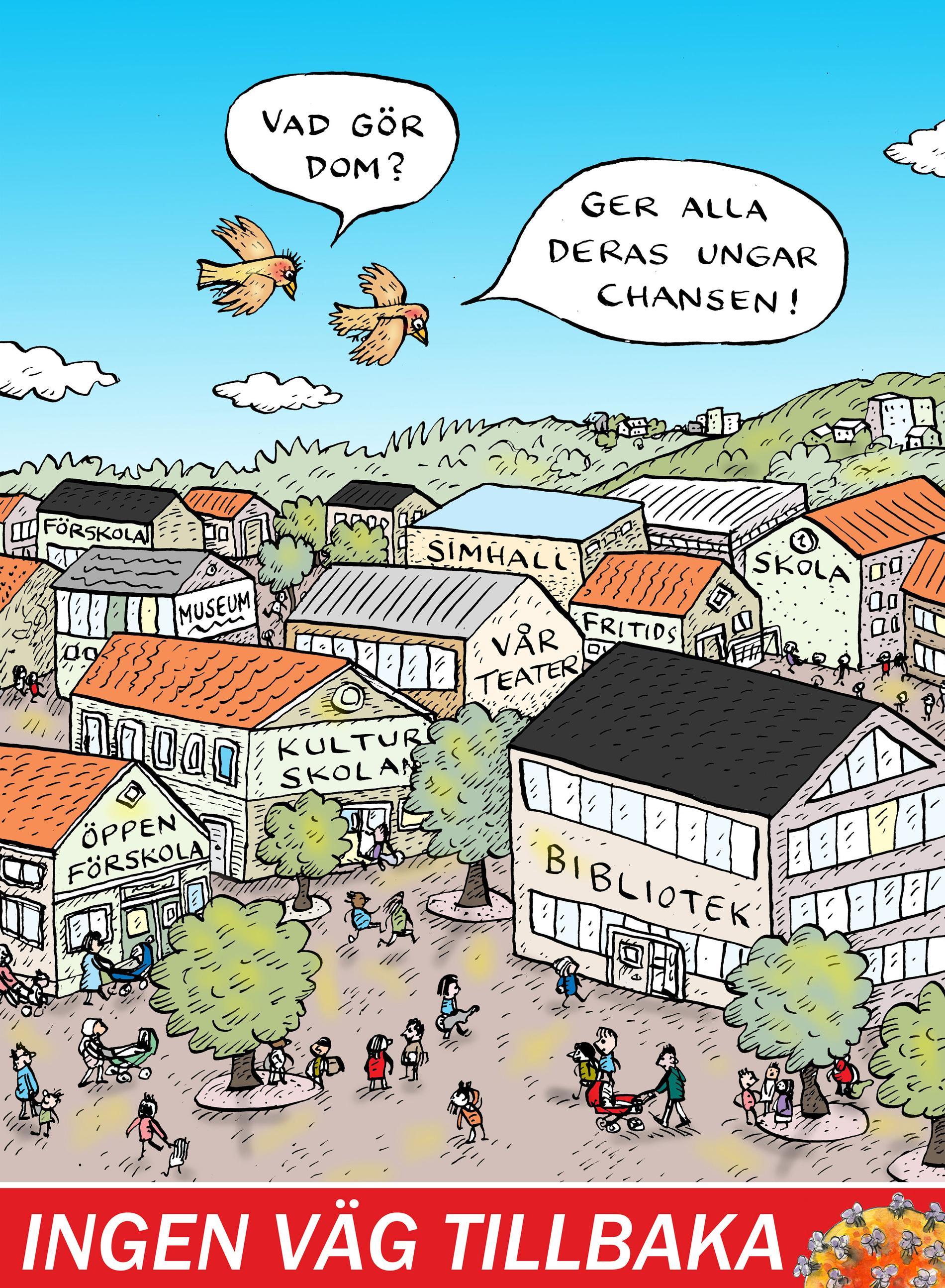 """I en serie artiklar under rubriken """"Ingen väg tillbaka"""" kommer Aftonbladets ledarsida att blicka framåt på jakt efter idéerna bortom dagspolitiken. För efter pandemin kommer också arbetarrörelsen behöva en nystart."""