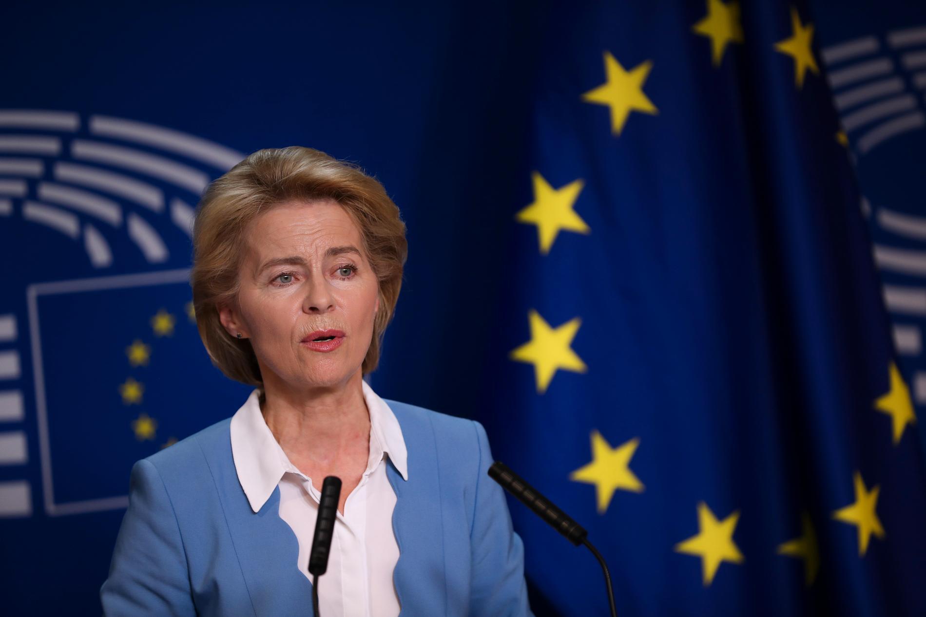 Ursula von der Leyen är EU-kommissionens konservativa, nya ordförande. Hon valdes till stor del på socialdemokratiska löften.