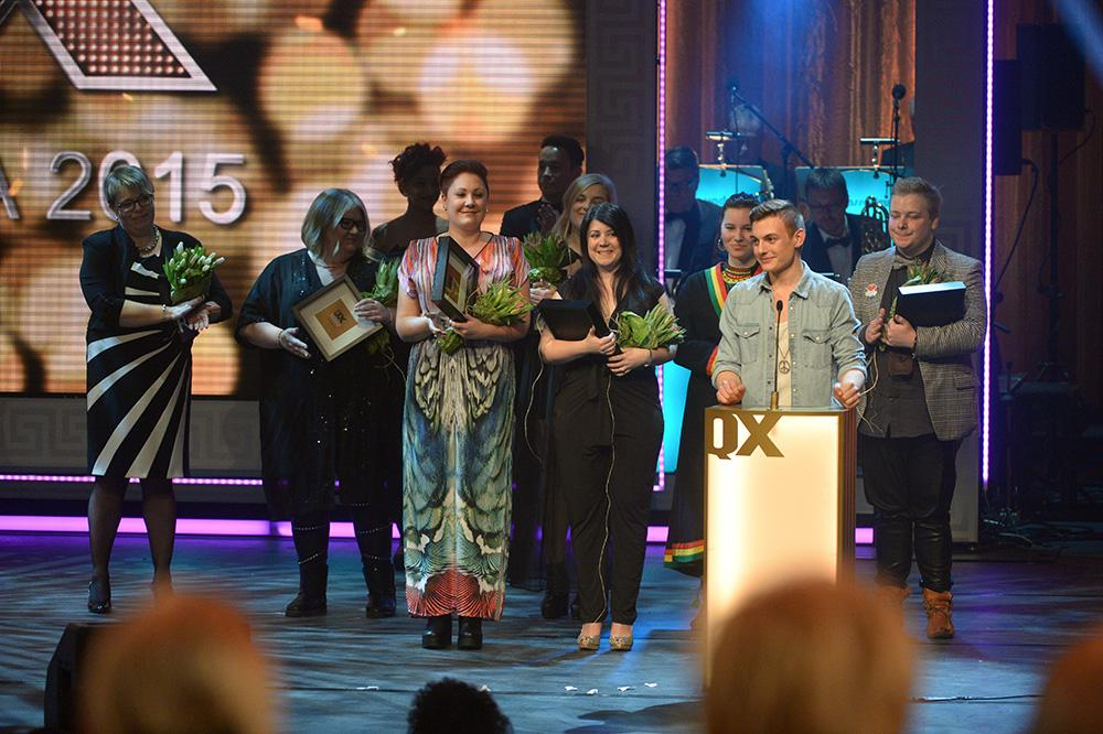 Falkenberg prisades på den stora QX-galan för att man förra sommaren ordnade stans första Pridefestival.