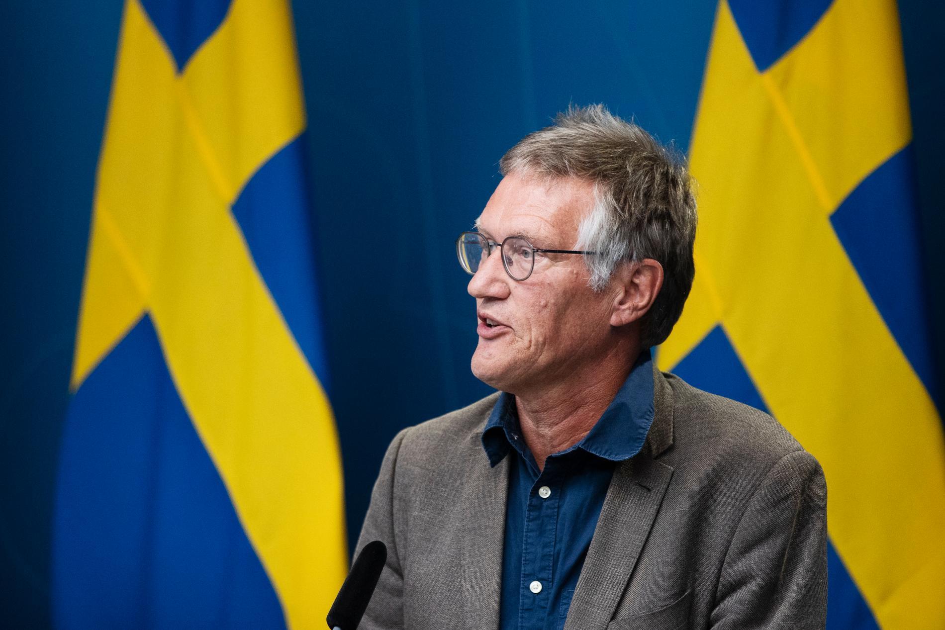 Statsepidemiologen Anders Tegnell