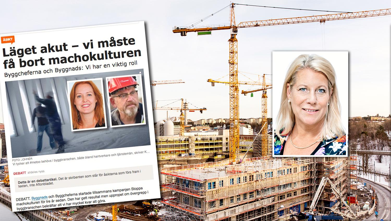 I kölvattnet av uppropet #metoo avslöjar #sistaspikenikistan att byggbranschen har stora problem med att inkludera alla. Debattören skriver att åtgärder tagits för att eftersträva nolltolerans mot sexism, diskriminering och trakasserier.