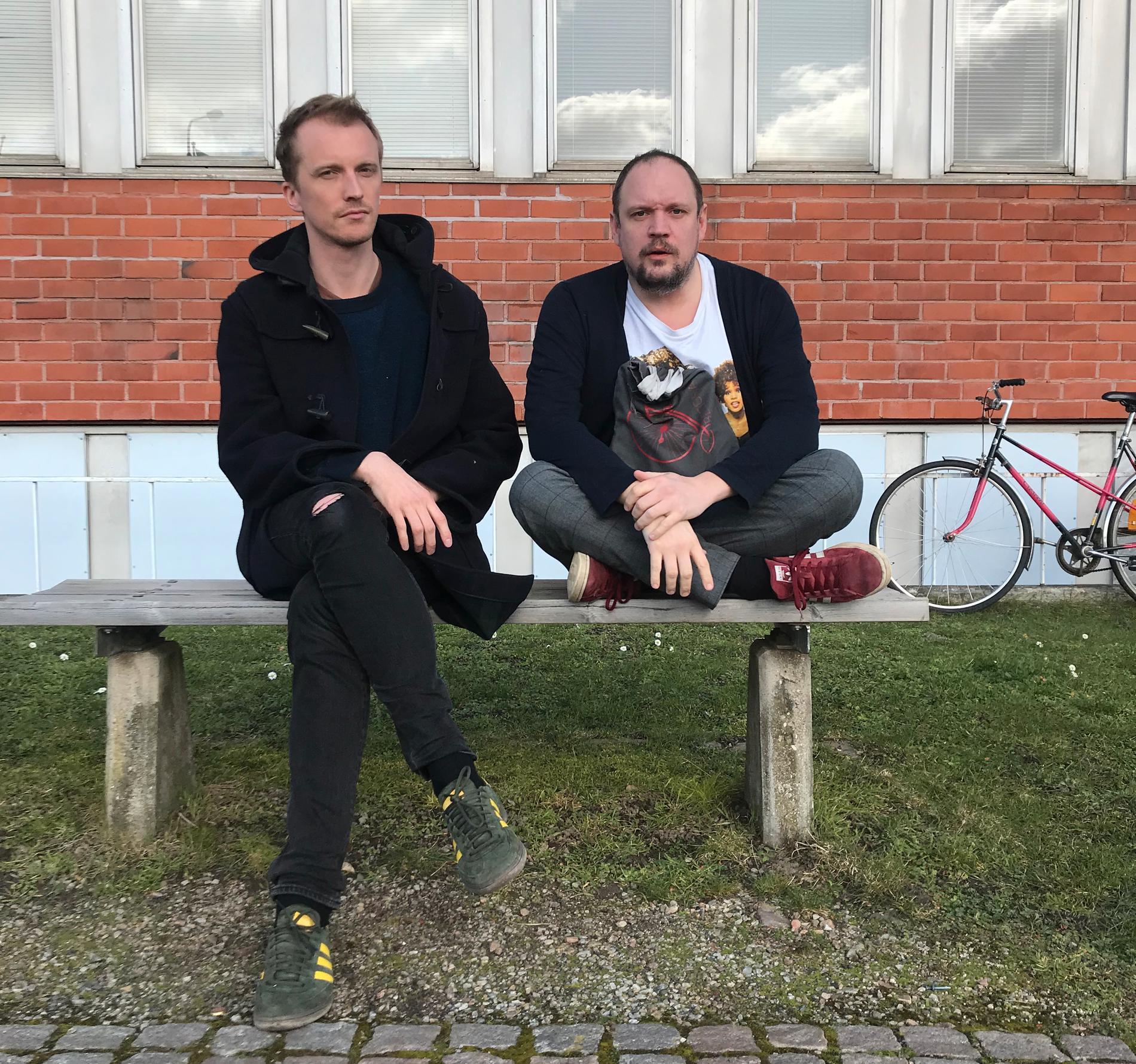 Ola Söderholm och Jonatan Unge.