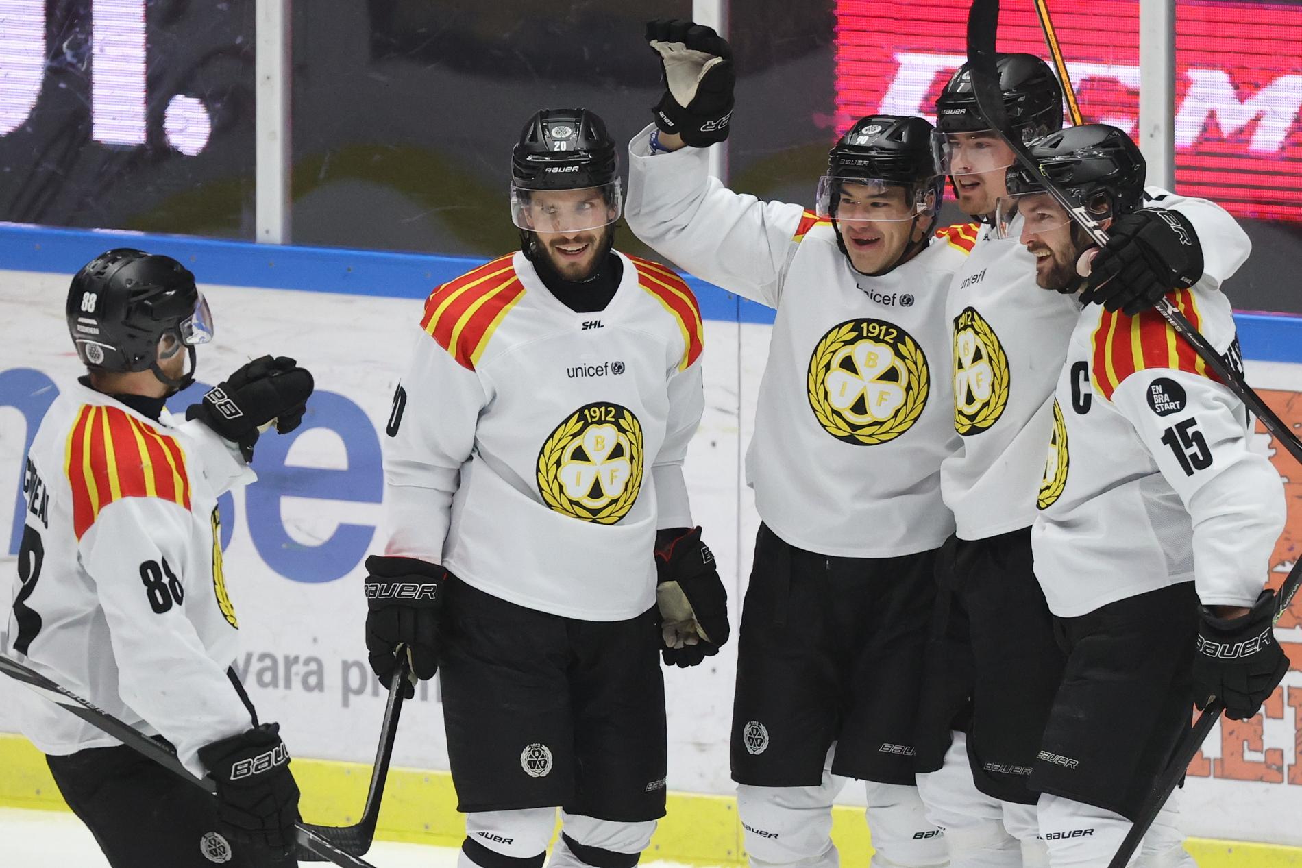 Brynäs slog Växjö med 6–4 efter en imponerande vändning. Arkivbild.