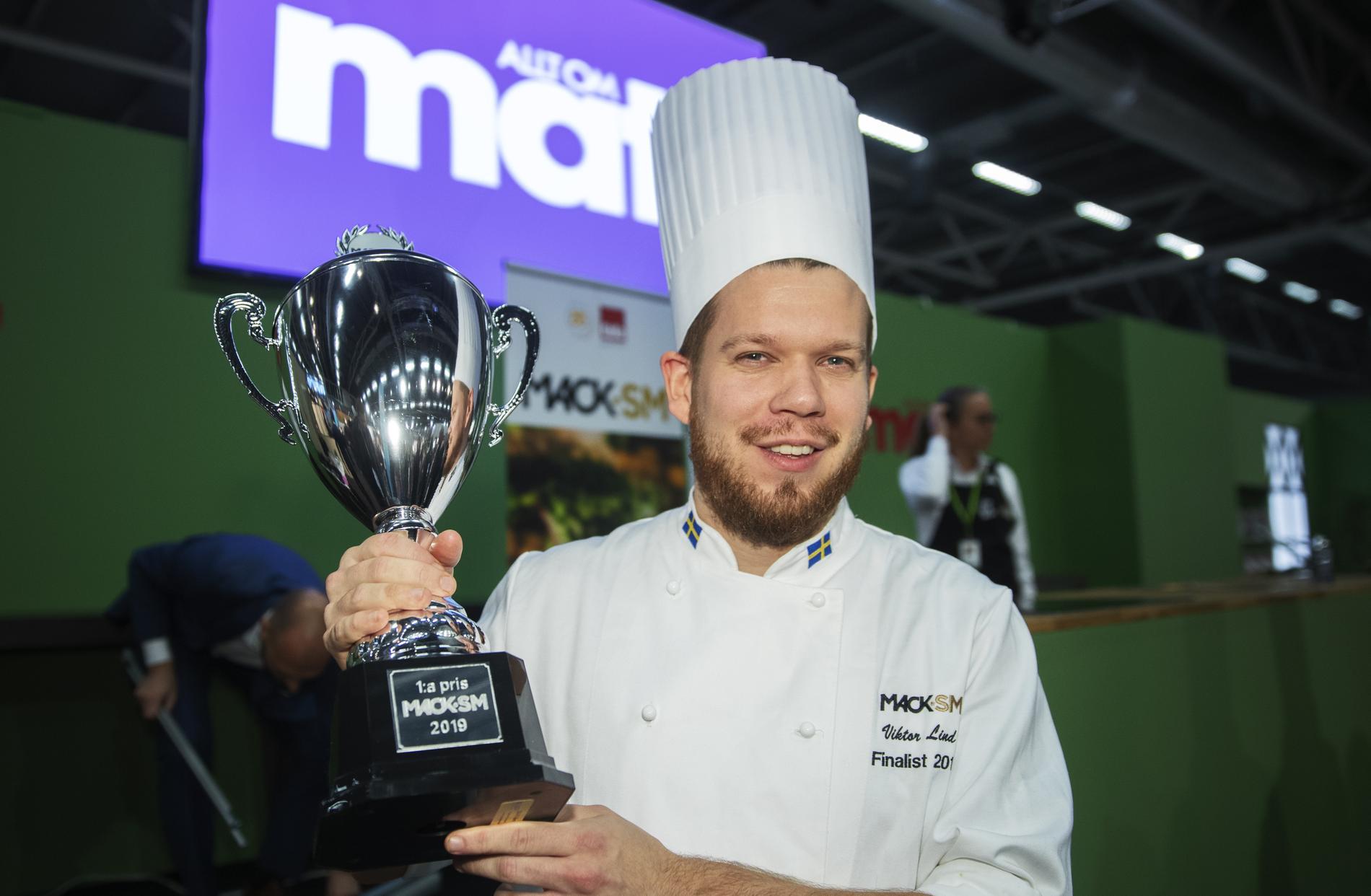 Viktor Lind, en av ägarna av Scandwich, vann 2019 Mack-SM.