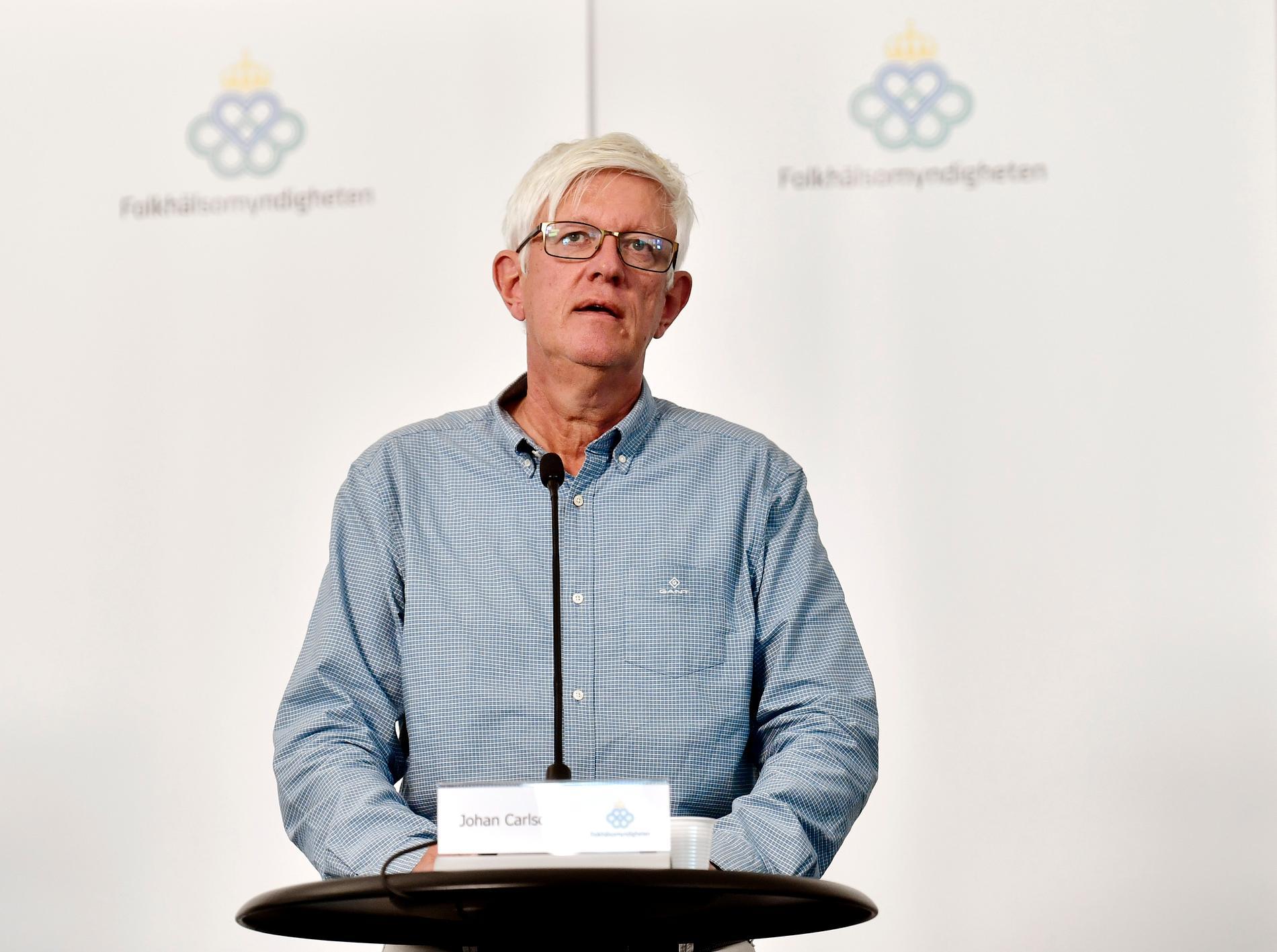 Johan Carlsson, generaldirektör.