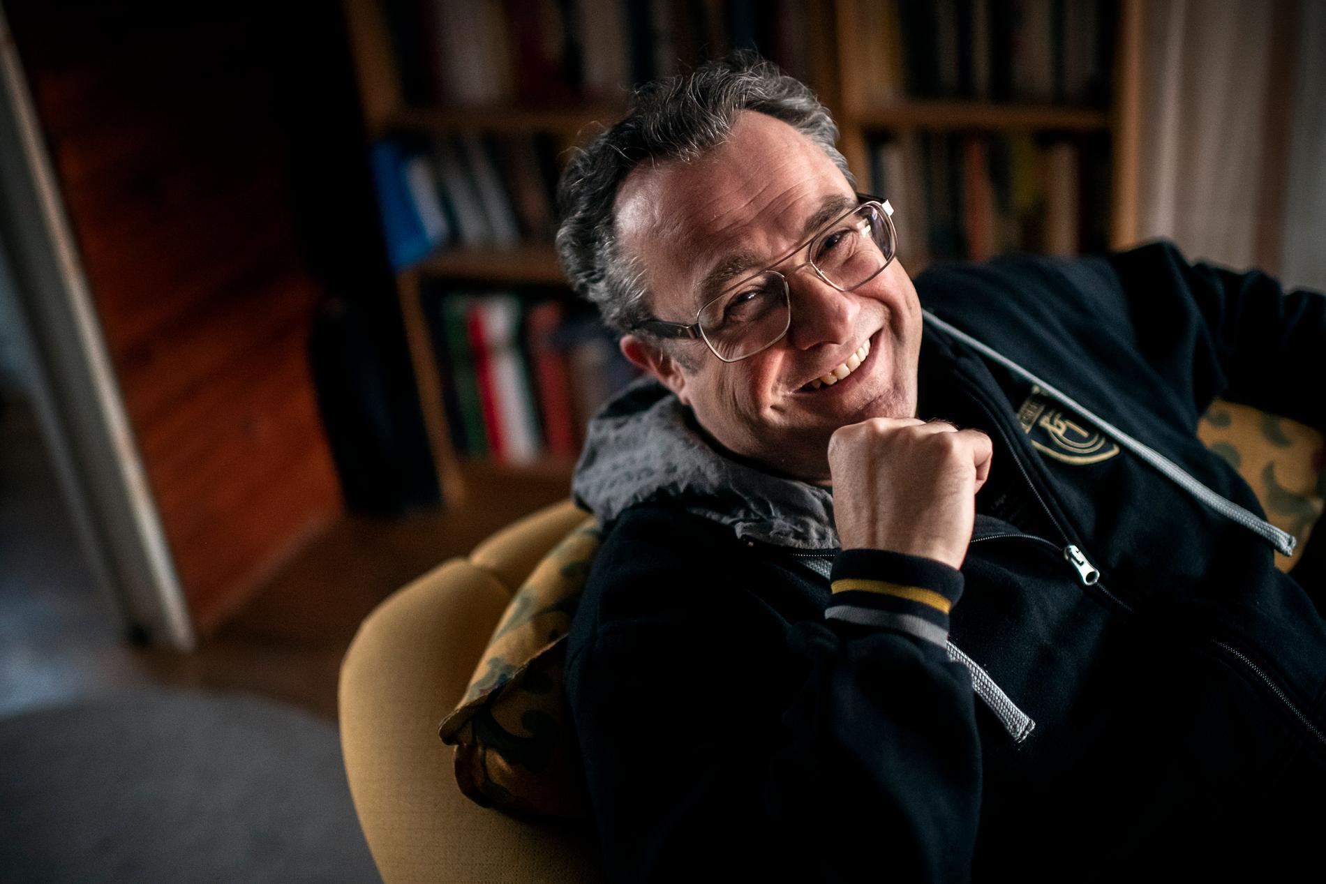 Degerfors ordförande Fredrik Rakar.