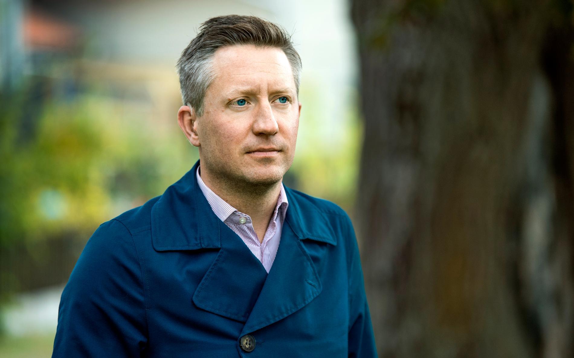 Mattias Lundekvam, förbundsordförande i Hörselskadades riksförbund (HRF). Arkivbild.