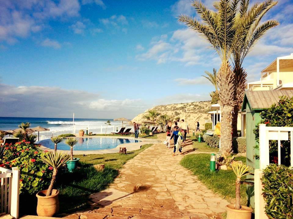 Erico Vitella tycker om att surfa i Agadir.
