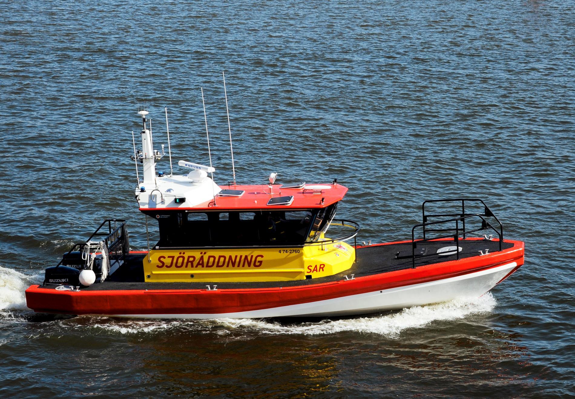 Sjöräddningen deltar i sökandet efter eventuella försvunna personer i Göteborg. Arkivbild.