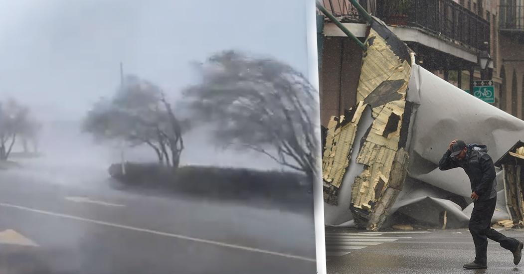 """Flera personer har dött efter att kategori 4-orkanen """"Ida"""" drog in över USA. Undantgastillstånd har utlysts på flera håll."""