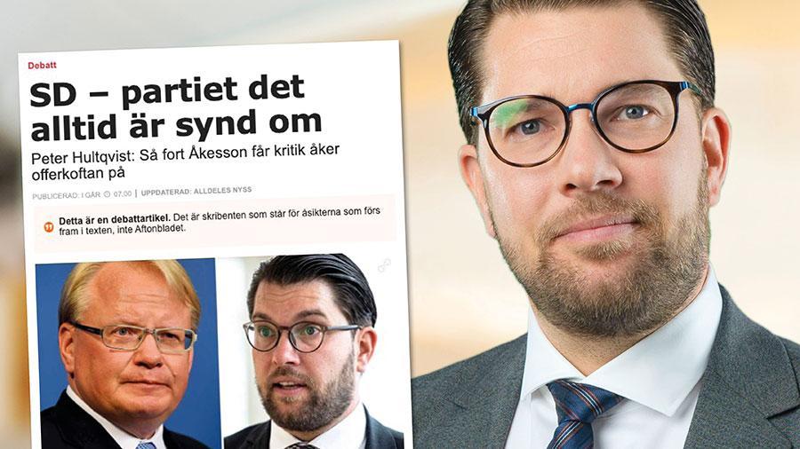 Det är inte oss i SD det är synd om. Vi är vana att ta emot osakliga påhopp, inte minst från S. Dem som det är synd om är alla de äldre, sjuka och hårt arbetande svenskar som under S styre har fått se Sverige dras isär av otrygghet och orättvisor. Replik från Jimmie Åkesson.