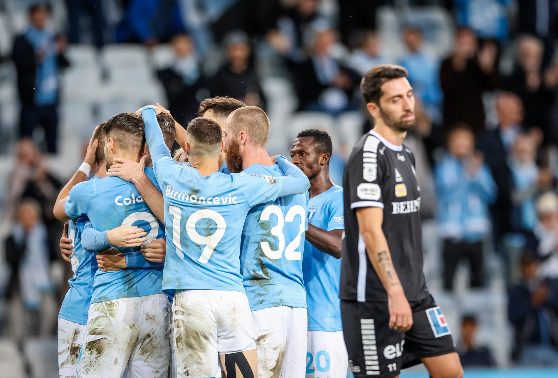 Malmö tog viktiga poäng mot Örebro.