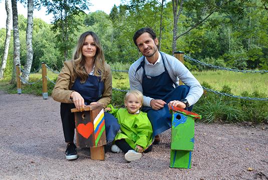 Två kungliga fågelholkar kommer sättas upp i Säterdalens naturreservat i Dalarna.