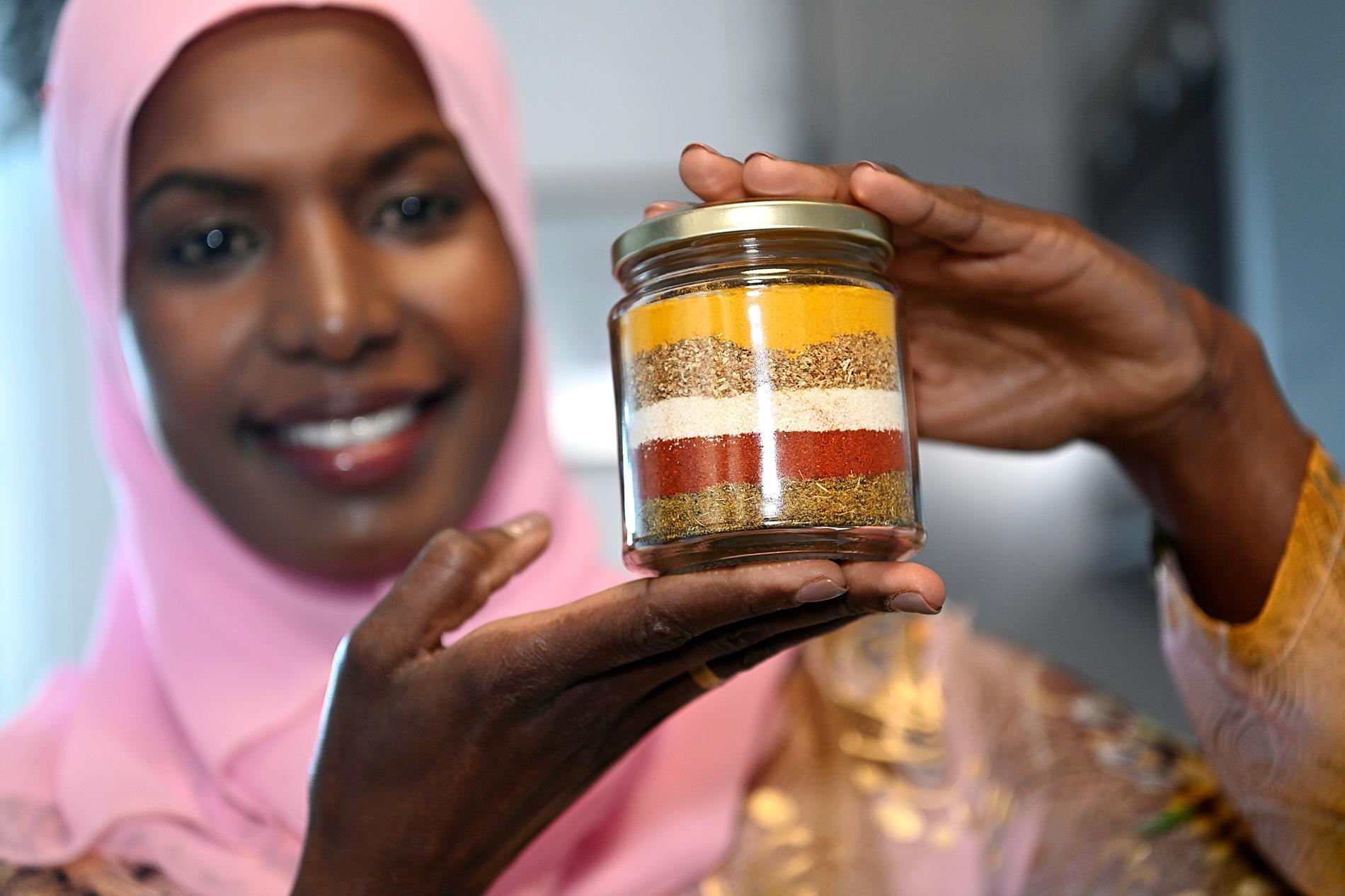 Det som utmärker det somaliska köket är kryddorna.