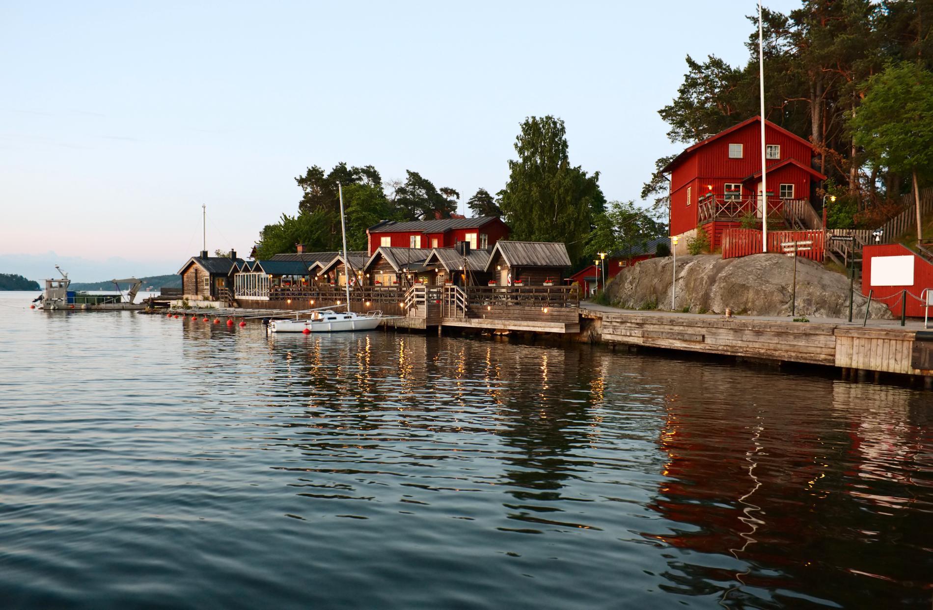 Fjäderholmarna kalls ibland för Stockholms närmaste skärgård.