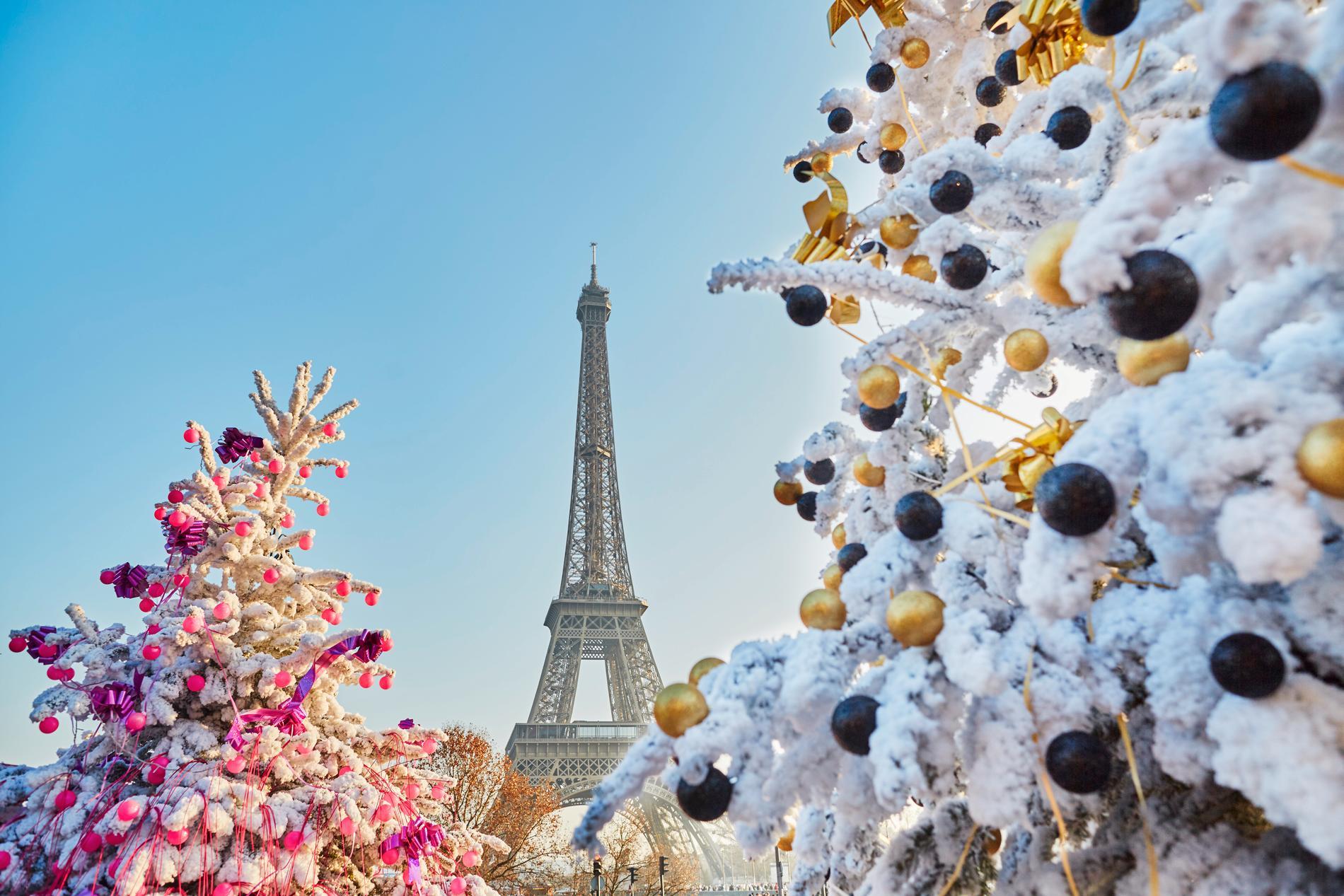 Resorna till Paris ökade med 70 procent julen 2019.