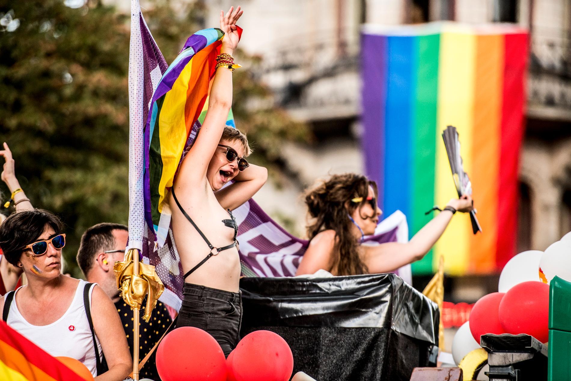 Stockholm Pride 2019 är igång.