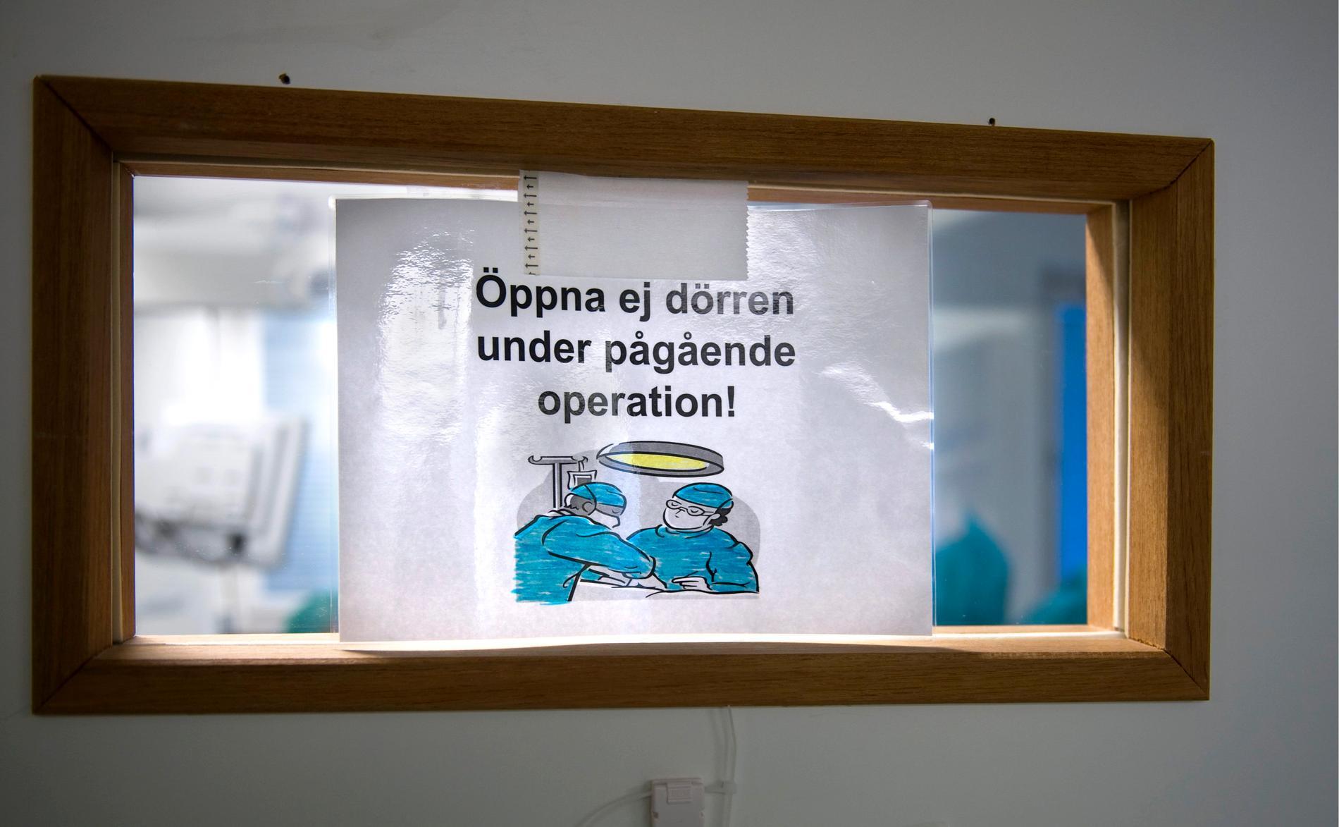 Vid en operation i Dalarna bildades gas i en urinblåsa vilket ledde till svåra skador. Arkivbild.