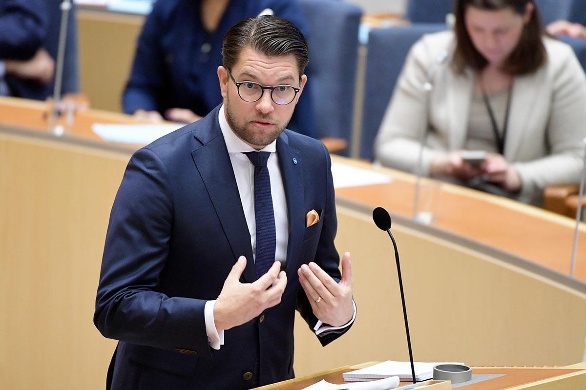 Jimmie Åkesson.