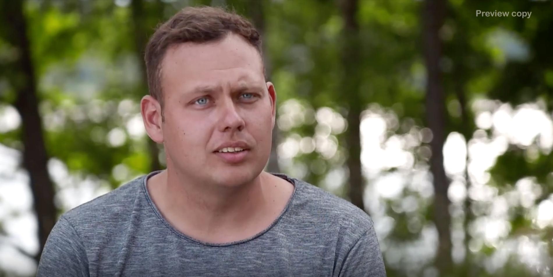 """Patrik Fernlund söker kärleken i """"Bonde söker fru""""."""
