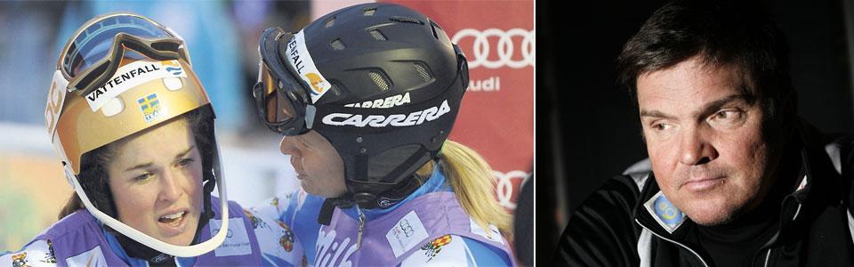 Anja Pärson slutade på 13:e plats och Maria Pietilä Holmner på 11:e i slalompremiären i Levi. Övriga svenskor var långt efter.