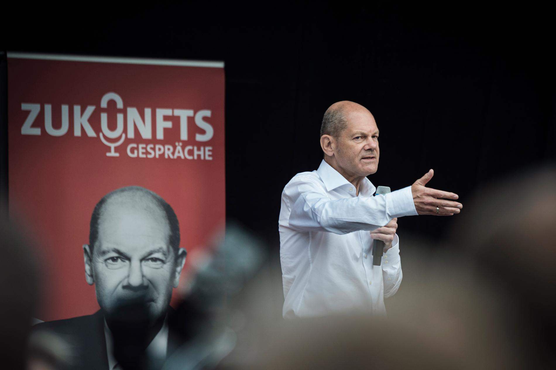 SPD:s Olaf Scholz kan bli Tysklands nästa förbundskansler.