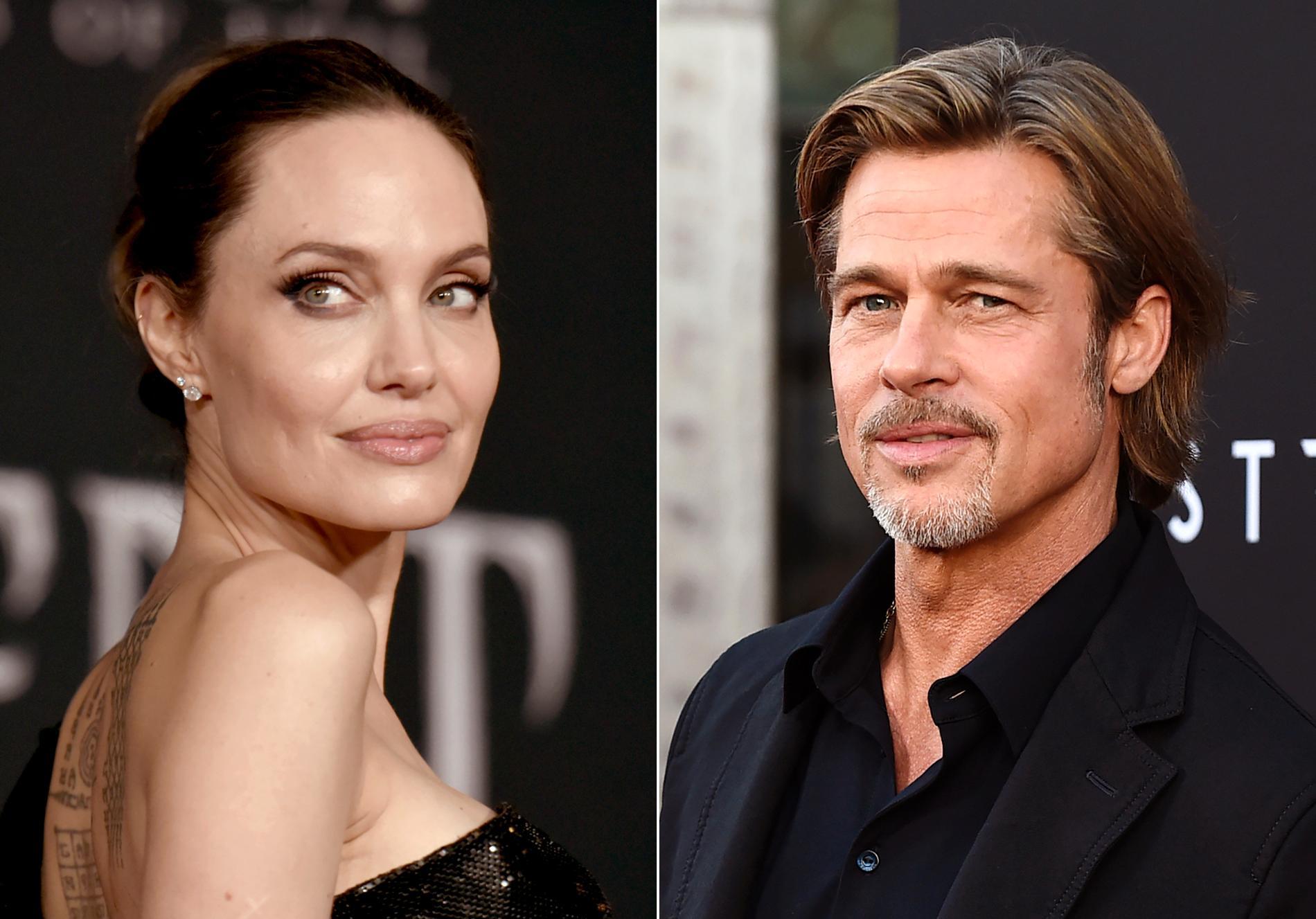 Brad Pitt var tidigare gift med Angelina Jolie.